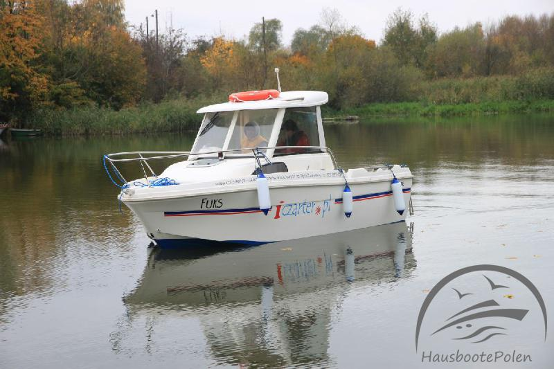 Charter Boats in Poland - Merry Fisher 530 Standard, May weekend on Żuławy